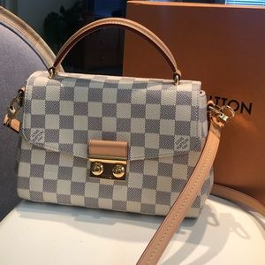 Louis Vuitton Croisette in Damier Azur